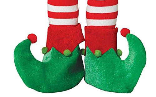 Guirma Copriscarpe da Elfo per Bambini, Colore Verde, Taglia Unica 41572