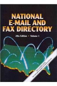 National E-mail and Fax Directory: 3 Volume Set