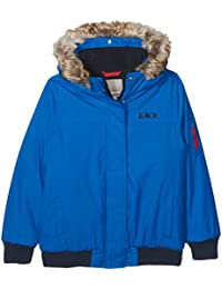 Bench Boy's Hooded Fur Bomber Jacket