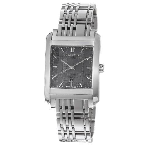 Burberry Men's BU1568 Square Stainless Steel Bracelet Watch