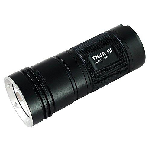 ThruNite® TN4A 1050 Lumen Kaltweiß Wasserfest AA LED Taschenlampe (TN4A Hi CW)