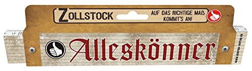 Zollstock für Männer Alleskönner Spezialzollstock Männergeschenk zum Geburtstag 30045