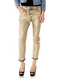 PLEASE - P78a du6 femme jeans pantalon baggy