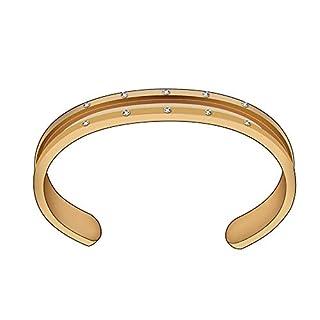 JJYHN Armband aus Edelstahl Aperta Haargürtel Europa und das Armband aus Titan für Damen A