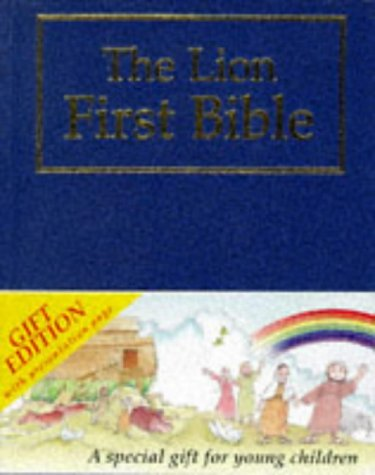 The Lion First Bible: Blue Gift Edition (First Look)