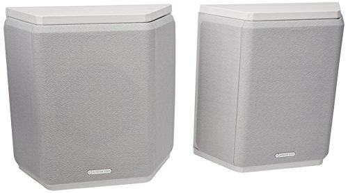 Monitor Audio Bronze FX Dipol/Bipollautsprecher, Farbe: White Ash, 1 Paar