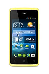 Acer Liquid Z200 Duo Smartphone USB Android 4.4 KitKat 4 Go Jaune