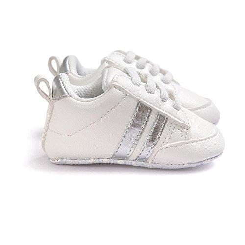 Itaar Bebes Chaussures Sport Garcons Filles Antiderapante 0-18 Mois Semelle Souple Rayure Classique Premier Pas #2