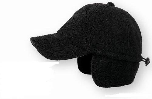 Casquette de Baseball Snow Flap Fleece baseball cap bonnet en polaire (taille unique - bleu)