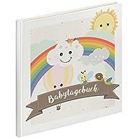 Regenbogen-Babytagebuch - Erinnerungsalbum - Babybuch