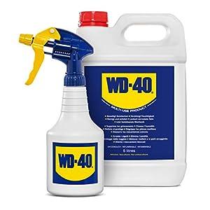 41SSdARrmmL. SS300 WD-40 Prodotto Multifunzione - Lubrificante Tanica da 5 lt + Dosatore Spray incluso