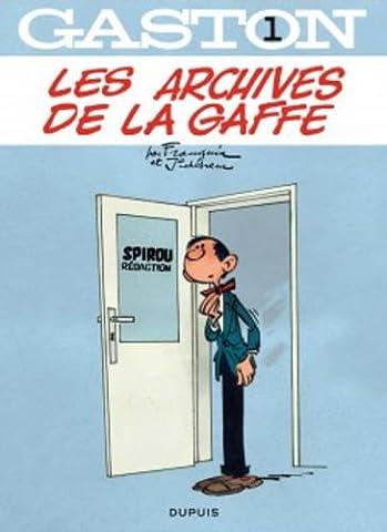 Gaston - tome 1 - Les archives de La