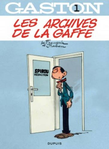 Gaston - tome 1 - Les archives de La Gaffe