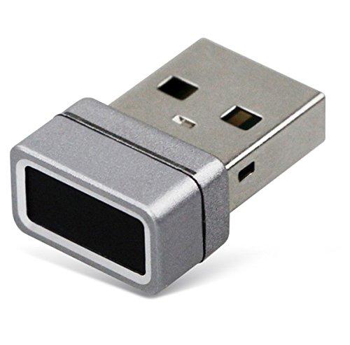FeinTech FPS00100 USB Finderabdruck-Sensor für Windows Hello Fingerprint-Reader Scanner silber Fingerprint Reader-tastatur