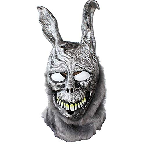 hcoser Donnie Darko Frank Maske böses Kaninchen Helm Cosplay Kostüm Latex Halloween Party Requisite für ()