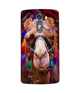 Camel Back Cover Case for LG G3 Stylus