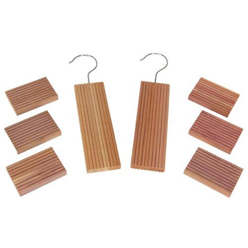CedarFresh Value Pack, Contains 2 Cedar Hang Ups and 6 Cedar Blocks Cedar Motten Blöcke