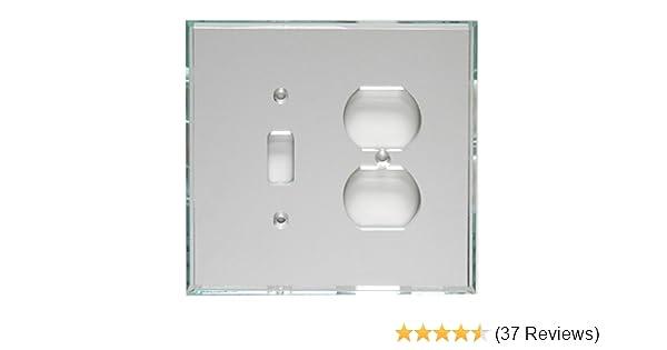 GlassAlike Duplex//Switch Acrylic Mirror Plate Mirart GA204