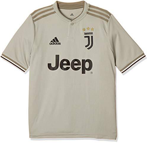 adidas Juventus Outdoor, Fußballtrikot, Unisex, Kinder, Sesam/Clay, FR: 2XL (Herstellergröße: 176)