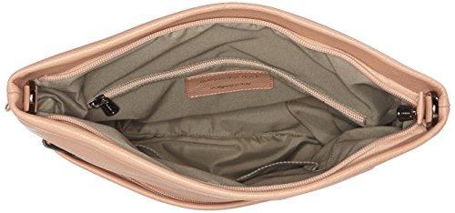Mandarina Duck - Mellow Leather Tracolla, Borsa a spalla Donna Rosa (Dusty Rose)