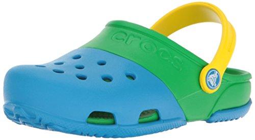 Crocs crocscrocs 15608 15608 bimba 0-24 unisex - kids, (ocean/grass green), 20 eu
