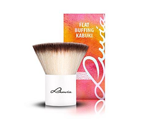 Luvia Cosmetics – Le Jour – V - Flat Buffing Kabuki – Make Up Kosmetikpinsel Kabuki im...