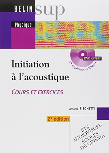 Initiation à l'acoustique
