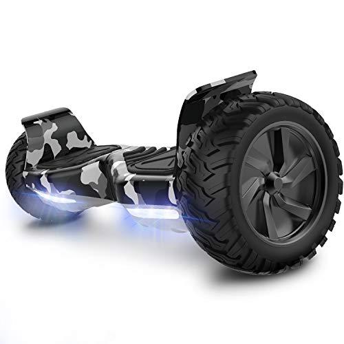 COLORWAY scooter 8.5Inches 2 Ruote Auto Bilanciamento Del Motorino Elettrico Auto Bilanciamento Con Altoparlante Bluetooth, APP Mobile e luce LED Monopattini Elettrici Autobilanciati
