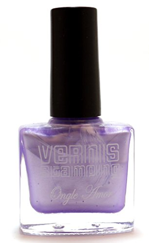 Vernis Stamping Violet Nacré