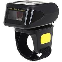 Eyoyo Escáner portátil Wearable inalámbrico Bluetooth de código de barras (MJ-R30)