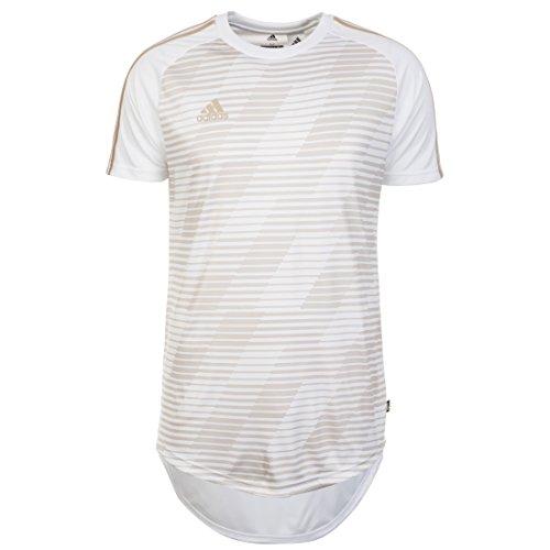 adidas Herren Tango Team 18 Jersey Trikot, White, M (Team-fußball-trikots)