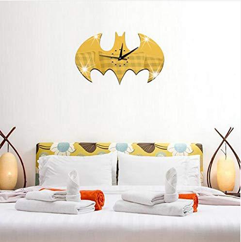 Meaosyy 4 Teile/Satz New Style Wohnzimmer Diy Wanduhr Halloween Wandaufkleber Batman Uhren Acryl Wanduhr Wohnkultur Handwerk Decals