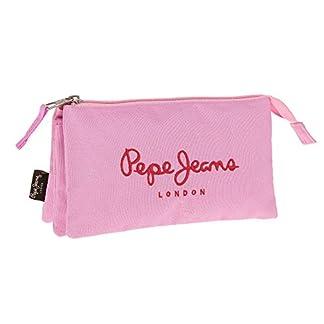 Pepe Jeans Pink Color Neceser de Viaje, 1.32 litros, Color Rosa