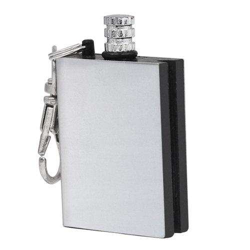41SSk0ZJMhL. SS500  - Veroda Metal Match Box Refillable Stainless Smoking Striker Lighter