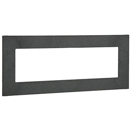 METRA ISO Din Trim Ring, schwarz -