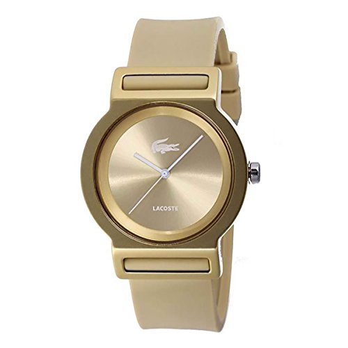 Unisex Lacoste Tokyo Gold Silicone Strap Watch 2020048