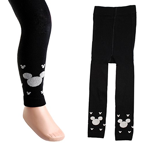 Strick Leggings - ' Disney Mickey Mouse ' - Größe 3 bis 4 Jahre - Gr. 110 / 116 __ 80 % Baumwolle - warme Winter & Sommer Legging /...
