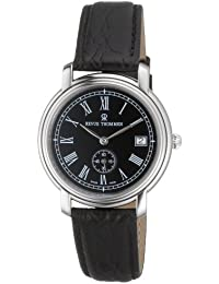Revue Thommen Nostalgia 1957 Automatic Black/Roman 17071.4134 - Reloj de caballero automático con correa de piel negra