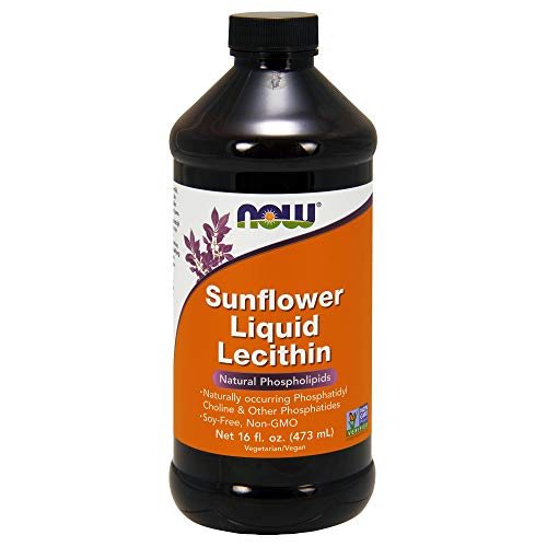 Now Foods, Sunflower Liquid Lecithin, 16 fl oz (473 ml)