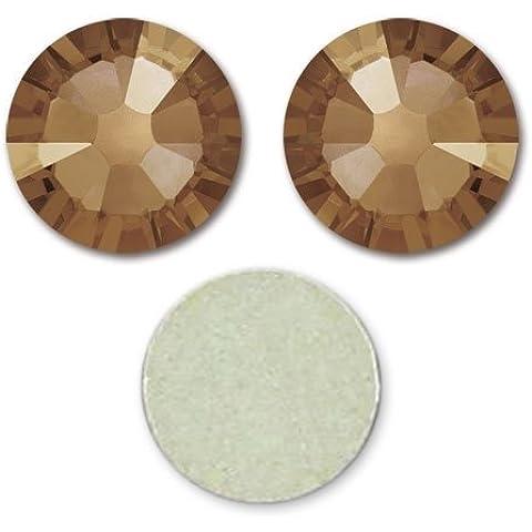 Strass para pegar Swarovski 4 mm Crystal Bronze Shade x36