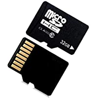 GEESENSS 32G TF Card, 10 High Speed Memory TF Card Micro-SD With Adapter Mobile Phone miniSD Cards