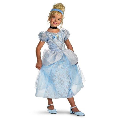 Disney 's Cinderella Cinderella Deluxe - Size: Child M(7 - 8)