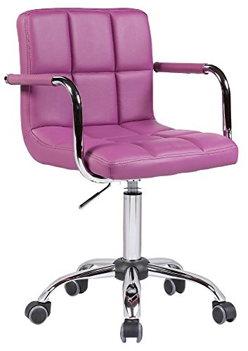 Decor-it 2016 V2 Executive Home Office chair with wheels (purple)