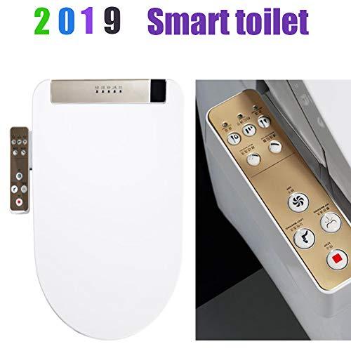 LED Siège de Toilette Électronique,Bidet Salle de...
