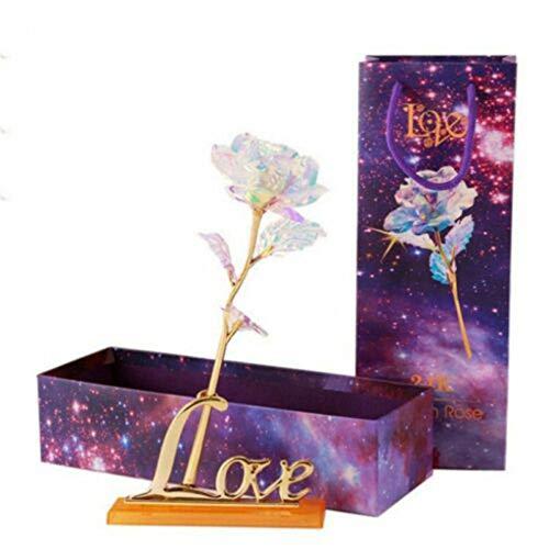 jieGREAT ❤❃ Räumungsverkauf❤❃ , Everlasting Crystal Gold Valentine's Day Day Gift The Best Choice