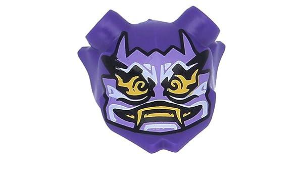 Lego Figuren Kopfbedeckung Maske Ninjago Oni Mask Of