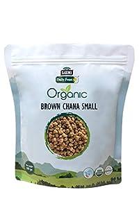 Organic Brown Chana Small 500 gm - Laxmi Daily Feast