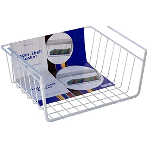 Organized Living Under-Shelf Basket - White by Organized Living