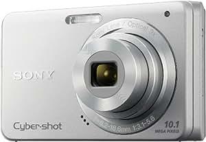 Sony Cyber-Shot DSCW180 Digital Camera - Silver (10 MP 3x Optical Zoom) 2.7 inch LCD
