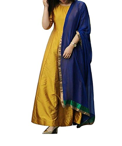 Muffins Enterprise Presents Yellow Attractive Salwar Suit For womens ethnicwear